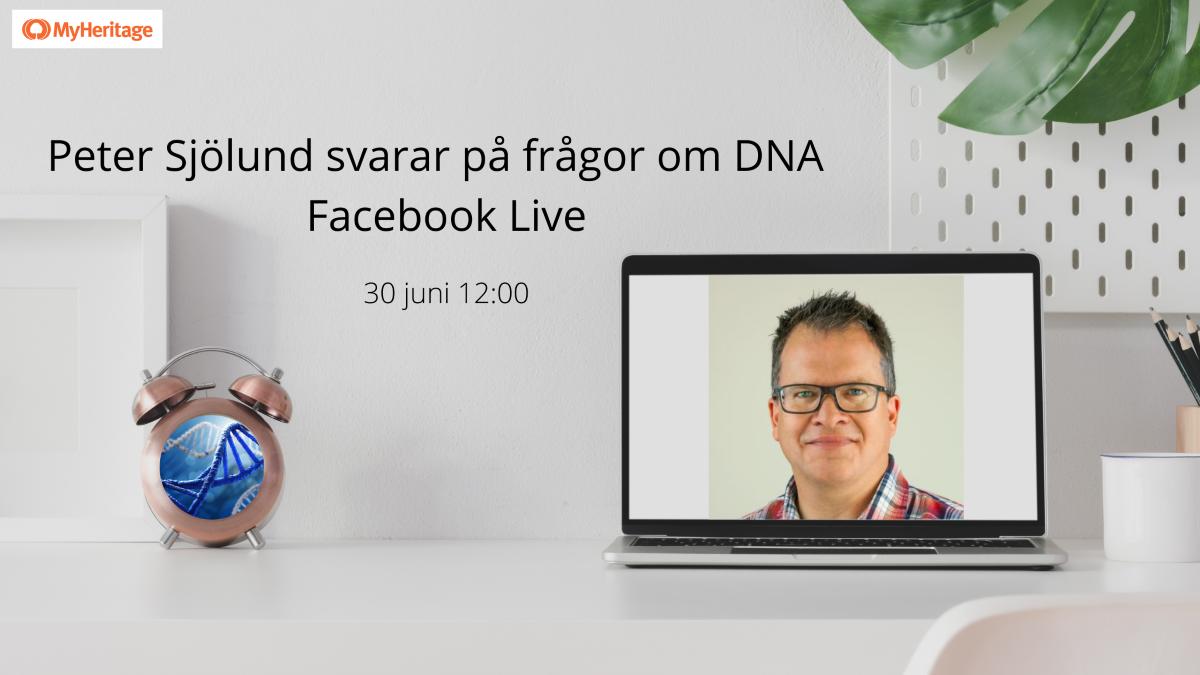 Sista Facebook Live-sessionen med Peter Sjölund för denna säsong